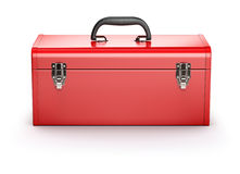 Red toolbox Stock Photos