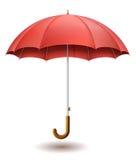 Red umbrella Stock Images
