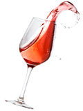 Red wine spilling Royalty Free Stock Photos