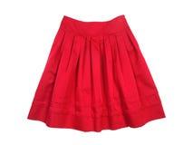 Red women skirt Royalty Free Stock Image