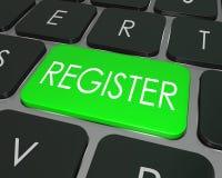 Register Computer Keyboard Key Enroll Enter Store Site