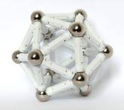 A regular icosahedron Stock Photo