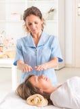 Reiki healing Royalty Free Stock Photos
