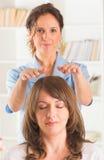 Reiki healing Royalty Free Stock Image