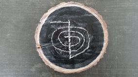 Reiki symbol Royalty Free Stock Photography