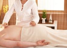 Reiki treatment Stock Image
