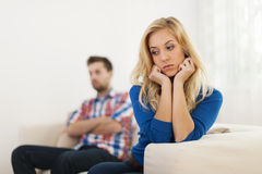 Relationship conflict Royalty Free Stock Image