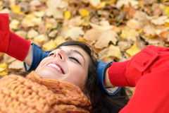 Relax and peace on happy autumn Royalty Free Stock Photography
