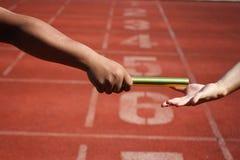 Relay race Stock Image