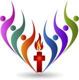 Religion logo Royalty Free Stock Photos