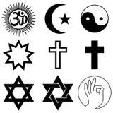 Religion symbols Royalty Free Stock Photography