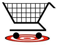 Retail goal Stock Photography