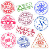 Retail Rubber Stamps Royalty Free Stock Photos