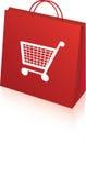 Retail shopping bag Royalty Free Stock Images