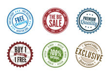Retail Stamps Stock Image