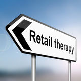 Retail therapy concept. Stock Photo