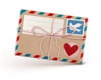 Retro  envelope Stock Images