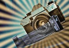 retro fotografi Arkivfoto