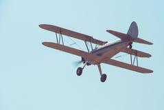 Retro plane Stock Photo