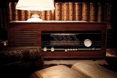 Retro room Royalty Free Stock Images