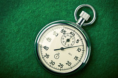 Retro stopwatch Stock Images