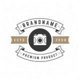 Retro Vintage Insignia or Logotype Vector design Royalty Free Stock Photo