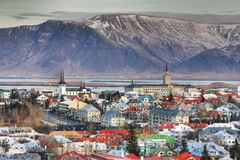 Reykjavik city Royalty Free Stock Photos