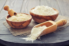 Rice flour Royalty Free Stock Image