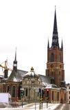 Riddarholmskyrkan in Stockholm Stock Images