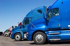 Riga del camion Immagine Stock