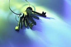 Ring of Keys Royalty Free Stock Photo