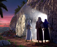 He is Risen Royalty Free Stock Photography
