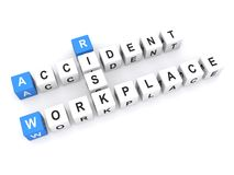 Risk of accident in workplace Royalty Free Stock Photography