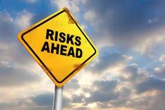 Risk Ahead Royalty Free Stock Photo