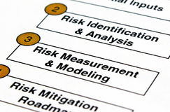 Risk Planning Royalty Free Stock Photo