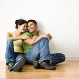 Ritratto sorridente delle coppie. Immagine Stock