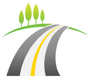 Road Logo Stock Images