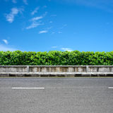 Roadside and pavement Royalty Free Stock Photo