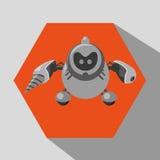 Robot et conception de technologie Photos stock