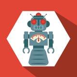 Robot et conception de technologie Image libre de droits