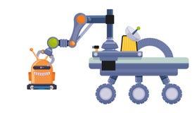 Robot et conception de technologie Images libres de droits