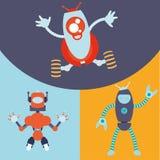 Roboter und Technologiedesign Lizenzfreie Stockfotografie