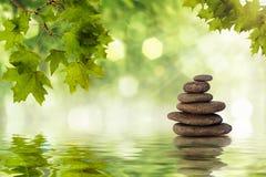 Rochas do zen Fotos de Stock