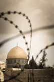 Religion, peace and war in Jerusalem Royalty Free Stock Photography