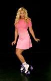 Roller Skate Girl Royalty Free Stock Images