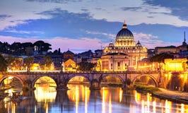 Rom nachts Stockbild