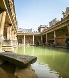 Roman bathhouse hot spring pool bath uk Stock Photo