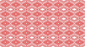 Romanian traditional seamless pattern - cdr format Stock Photos