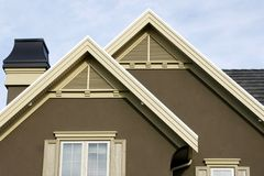 Roof Details Home Royalty Free Stock Image