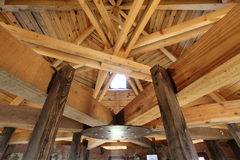 Roof truss Royalty Free Stock Photo